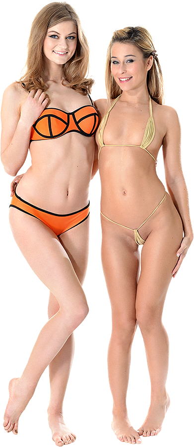 Merry Pie & Lola Reve Duo istripper model